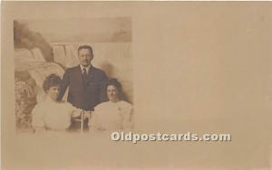 Postcard Group of People Unused