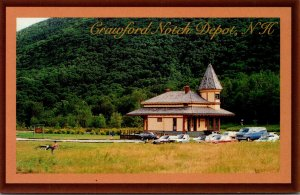 New Hampshire White Mountains Crawford Notch Depot