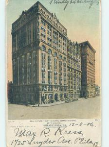 Pre-1907 GERARD BUILDING Philadelphia Pennsylvania PA H7263