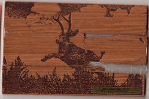 Wooden Jackalope