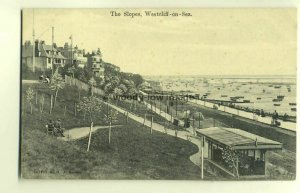 tp4569 - Essex - The Slopes on the Seafront at Westcliff-on-Sea - Postcard