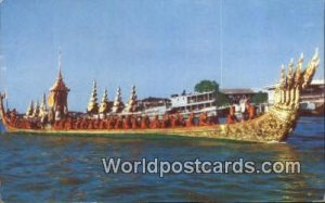 Royal Barge Anantanakraj Bangkok Thailand Unused