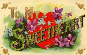 Greeting - To My Sweetheart