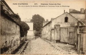 CPA Paris 14e PARIS d'Autrefois-Impasse Coeur-de-Vey (310816)