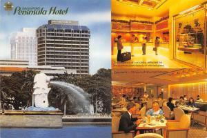 Singapore Peninsula Hotel Lobby Fountain