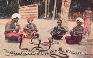 Sri Lanka Ceylon Snake Charmers, Plate's Art