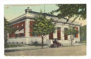 US Post Office, Spartanburg, South Carolina, 1913