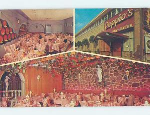 Pre-1980 PEPPIO'S ITALIAN RESTAURANT ON DAVENPORT ROAD Toronto Ontario ON B9461