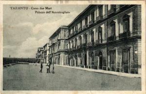 CPA Taranto Corso due Mari Palazzo dell'Ammiragliato ITALY (801577)