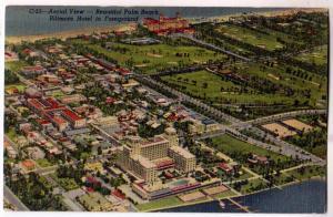 Aerial View, Palm Beach, Fla