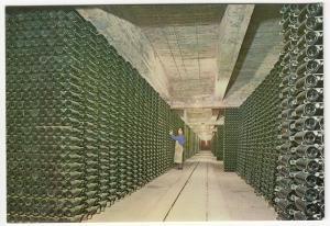 Spain; Cavas Codorniu, Aging Bottles, Advertising PPC, Unposted, c 1970's