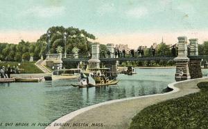 MA - Boston, Bridge at Public Garden