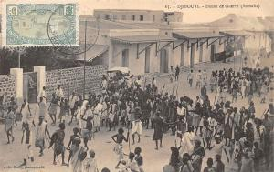 Djibouti Danse de Guerre (Somalis) dance 1913