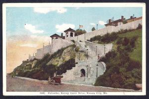 Palisades Kersey Coats Drive Kansas City MO unused c1910's