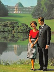 King Baudouin & Queen Fabiola -