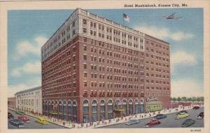 Missouri Kansas City Hotel Muehlebach 1953 Curteich