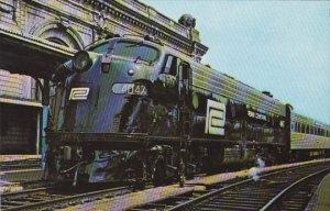 Penn Central Railway 4047 Locomotive
