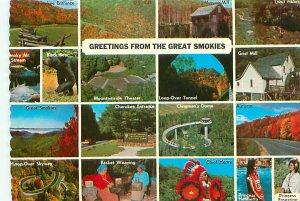 Buy Indian Postcards Snapshots Cherokee Reservation