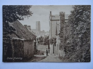 Devon STOKE FLEMING Dartmouth Hill c1906 Postcard by Frith 2854B