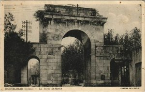 CPA Montelimar Jardin Public ,Le Lac FRANCE (1092034)