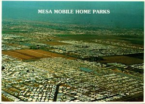 Arizona Mesa Mobile Home Parks Aerial View