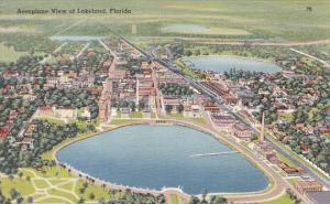 Florida Lakeland Aeroplane View Of Lakeland