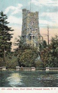 1000 Islands , New York , 1901-07 ; Alster Tower, Heart Island