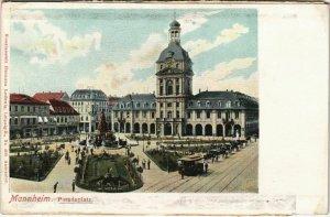 CPA AK Mannheim Paradeplatz GERMANY (1127676)