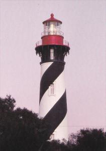 Anastasia Island LIGHTHOUSE , St Augustine , Florida , 60-80s