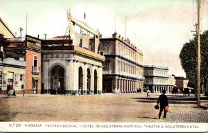 Cuba Havana Theatre and Inglaterra Hotel