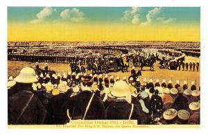 Nostalgia Postcard 1911 George V Coronation, Durbar, Delhi, India Repro NS26