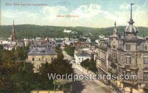 Gera Germany, Deutschland Postcard Blick von der Louisenhohe Gera Blick von d...