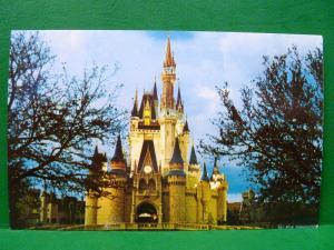Postcard FL Walt Disney World Cinderella Castle Fantasyland