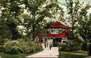 Wisconsin Milwaukee Washington Park Pavilion 1909