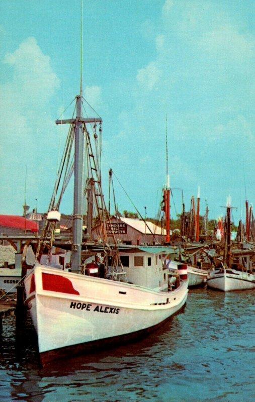 Mississippi Biloxi Shrimp Boats