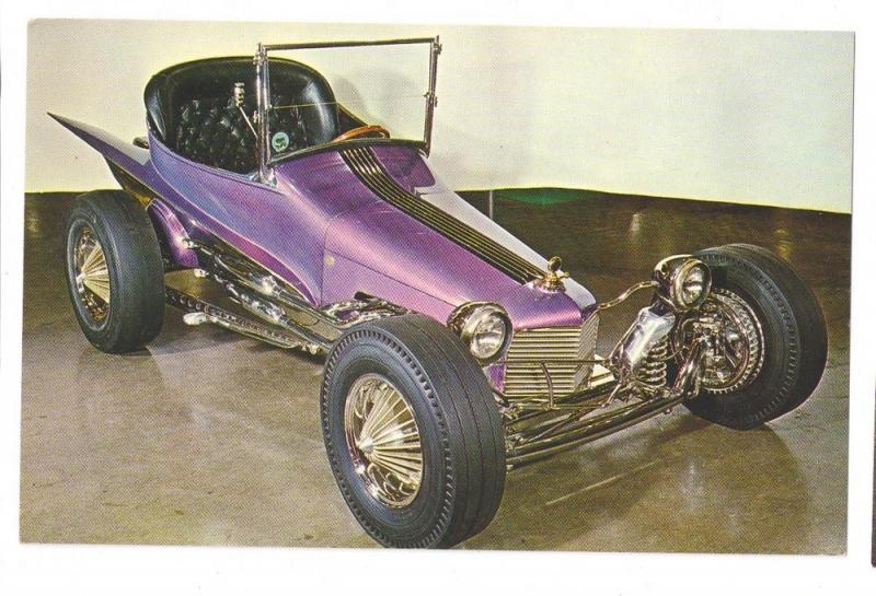 Roadster Hot Rod Joe Wilhelms Wild Dream Show Car Photo Card