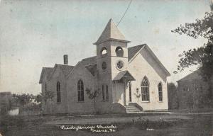 Greene Iowa~Presbyterian Church~CU Williams Photoette~1908 Postcard