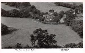 Vintage Buckinghamshire Real Photo Postcard The Plow Inn, Speen I12