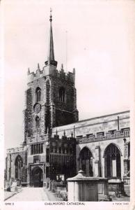 Tucks Vintage 1949 Real Photo Postcard Chelmsford Cathedral CMD5 #C