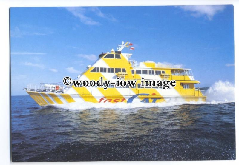 FE1068 - Sealink British Ferries Ferry - Our Lady Patricia , built 1986 postcard
