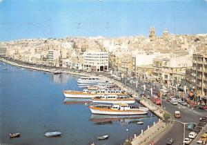 Malta The Strand Sliema Port Harbour
