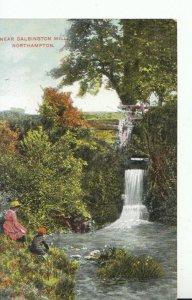 Northamptonshire Postcard - Near Dalbington Mill - Ref 15320A
