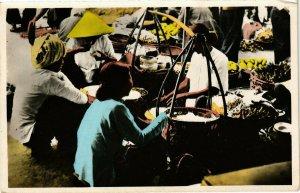 VIETNAM INDOCHINE - Saigon - Marchandes ambulantes (190122)