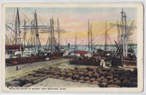 Whaling Ships, New Bedford MA
