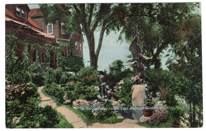 Brookline, Mass, The New Japanese Garden, Laez Anderson Gardens
