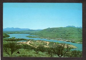 AZ Patagonia Lake State Park near Sonoita Creek Arizona Postcard