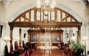 Ottawa ON Senate of Canada Speaker's Reception Room c1971 Postcard G16