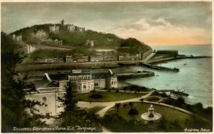 UK - England, Devon. Princess Gardens & Vane Hill, Torquay