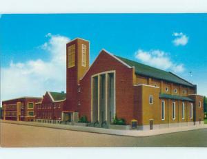 Unused Pre-1980 CHURCH SCENE Colorado Springs Colorado CO L2912-12
