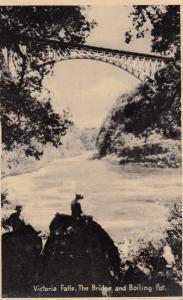 Victoria Falls. The Bridge & Boiling Pot , South Africa , 1930s
